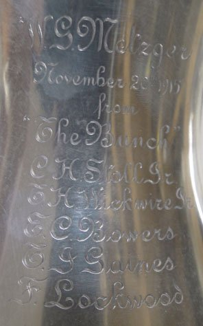 5: ANTIQUE TIFFANY & CO STERLING SILVER LOVING CUP - 7