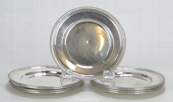 5: 9 GORHAM STERLING SILVER DISHES