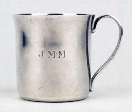 20: VINTAGE TIFFANY STERLING SILVER BABY CUP