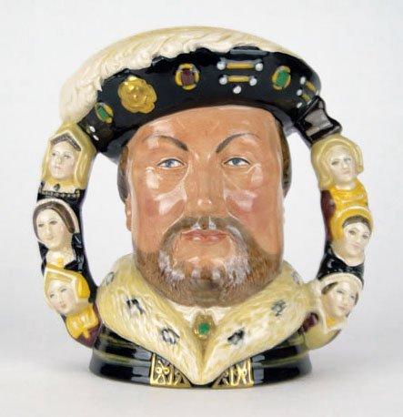 2: ROYAL DOULTON PORCELAIN FIGURINE KING HENRY & WIVES