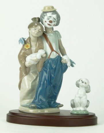 """3: LLADRO TITLED """"PALS FOREVER"""""""