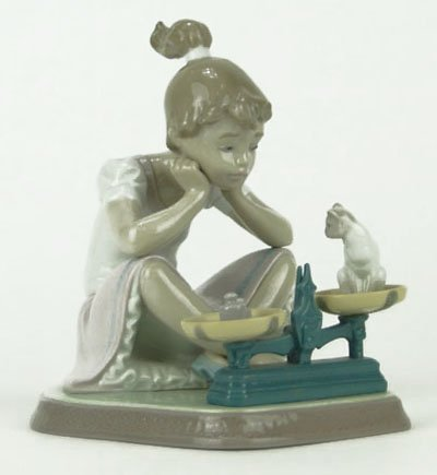 """4: LLADRO TITLED """"HOW YOU'VE GROWN"""""""