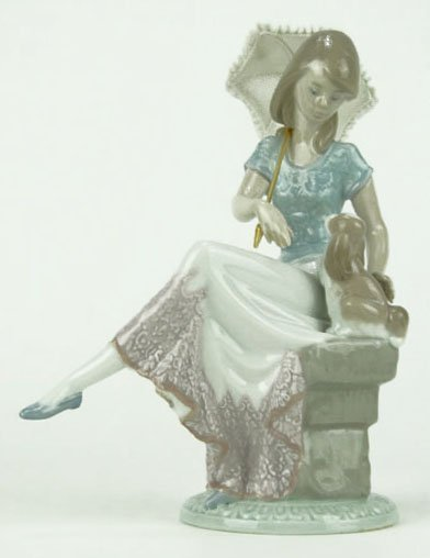 """7: LLADRO TITLED """"PICTURE PERFECT"""""""