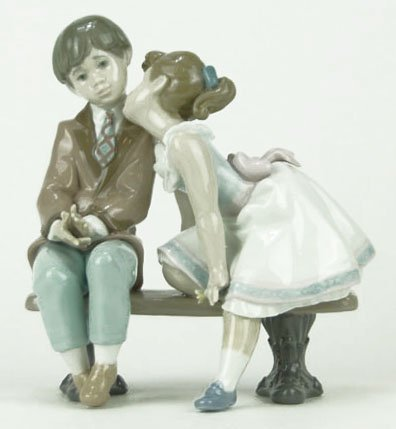 """8: LLADRO TITLED """"TEN AND GROWING"""""""