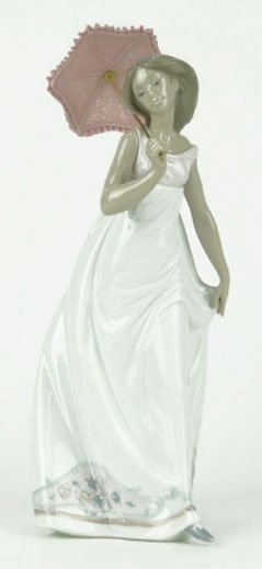 """21: LLADRO TITLED """"AFTERNOON PROMENADE"""""""