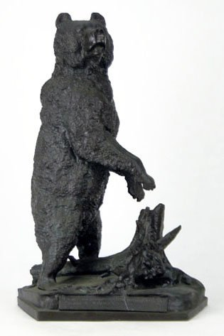 FABULOUS VINTAGE RUSSIAN BRONZE OF A BEAR