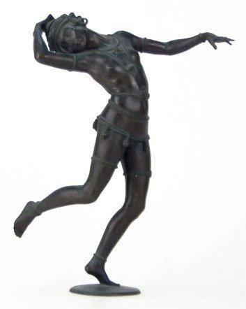 ART NOUVEAU BRONZE BY WALTER SEBASTIAN RESCH