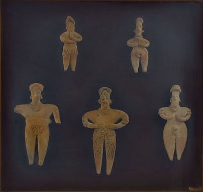 COLLECTION OF PRE-COLUMBIAN MEXICAN COLIMA'S