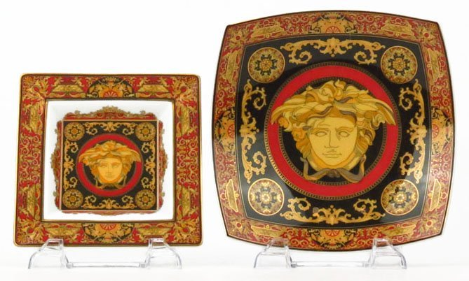TWO VERSACE ROSENTHAL BOWLS