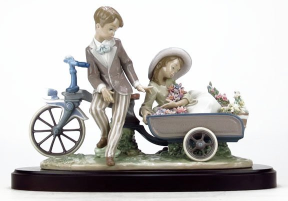"LLADRO ""COUNTRY RIDE"" #5958"