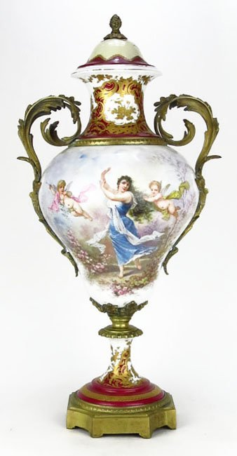 Large 19/20th Century French Limoges Sevres