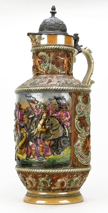 IMPORTANT EXTRAORDINARY LARGE GERMAN RELIEF STEIN