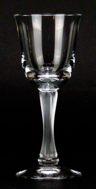 11 LALIQUE CORDIALS GLASSES