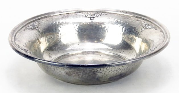 VINTAGE WALLACE STERLING SILVER BOWL