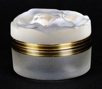 LALIQUE DAPHNE NUDE DRESSER BOX