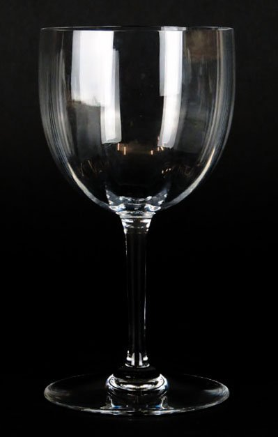 EIGHT BACCARAT MONTAIGNE OPTIC WATER GLASSES