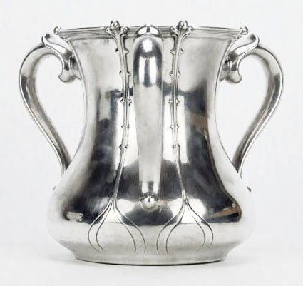 EXTRAORDINARY TIFFANY & CO. STERLING SILVER LOVING CUP