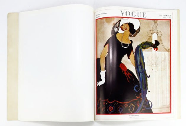 ANTIQUE VOGUE POSTER BOOK WITH FRAME-ABLE POSTERS - 3