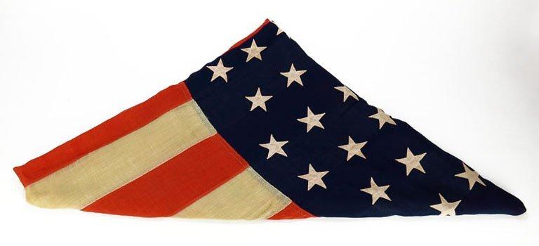 1896 45 STAR AMERICAN FLAG