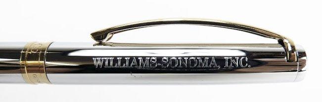 TIFFANY & CO. WILLIAMS-SONOMA TWO TONE PEN - 3