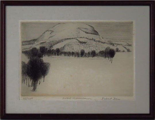 ANTIQUE LITHOGRAPH BY LISTED ARTIST ROBERT BERO - 2