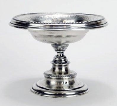 19TH CENTURY AUSTRIAN STERLING COMPOTE