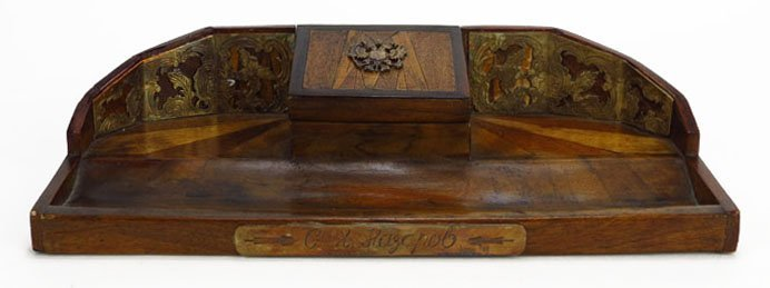 ANTIQUE RUSSIAN IMPERIAL INKWELL