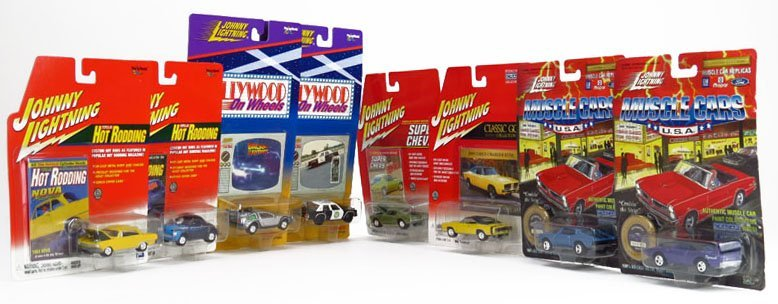 JOHNNY LIGHTNING SET OF 8 COLLECTOR CARS