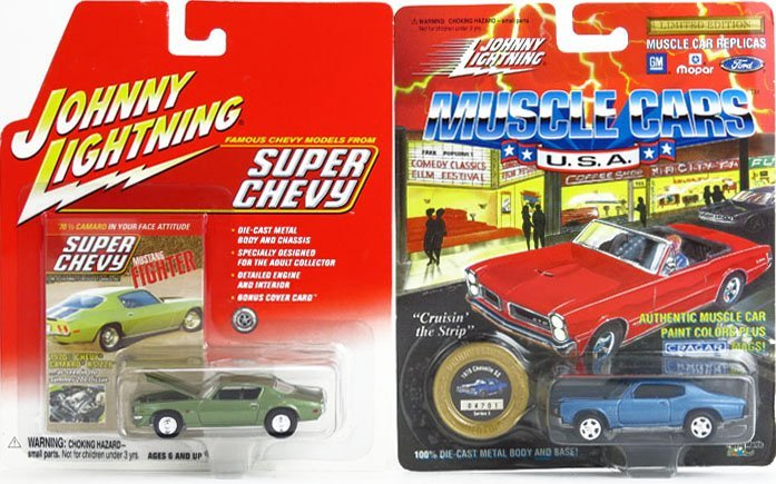 JOHNNY LIGHTNING SET OF 8 COLLECTOR CARS - 2