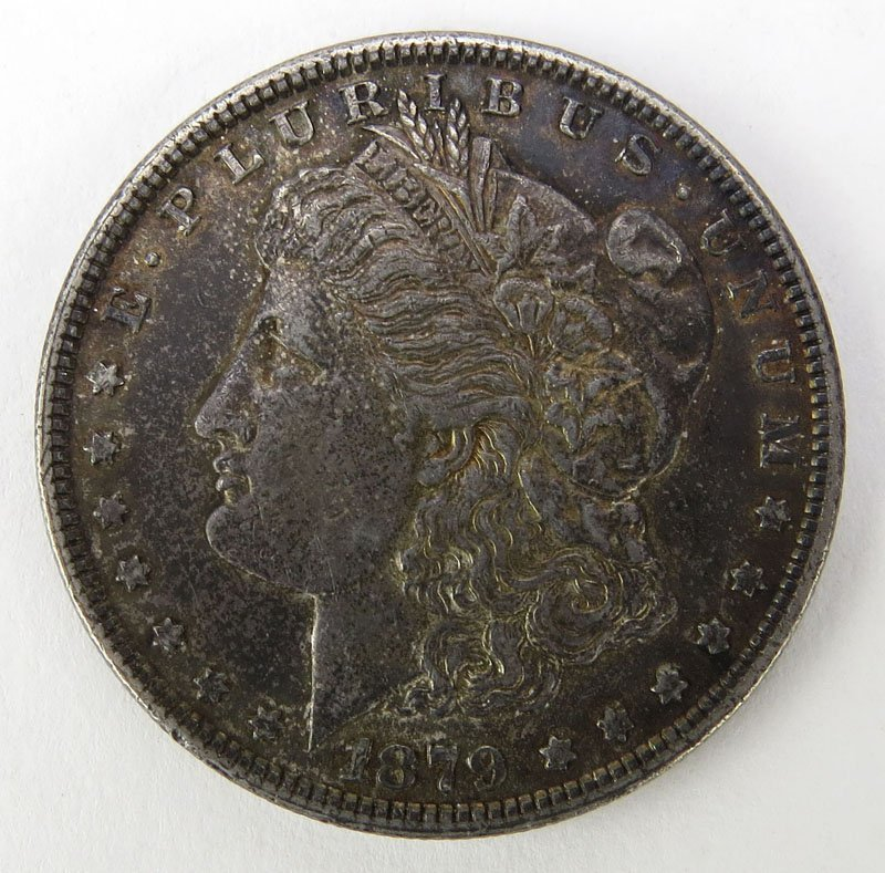 1879 Morgan Silver Dollar. This Coin IS NOT