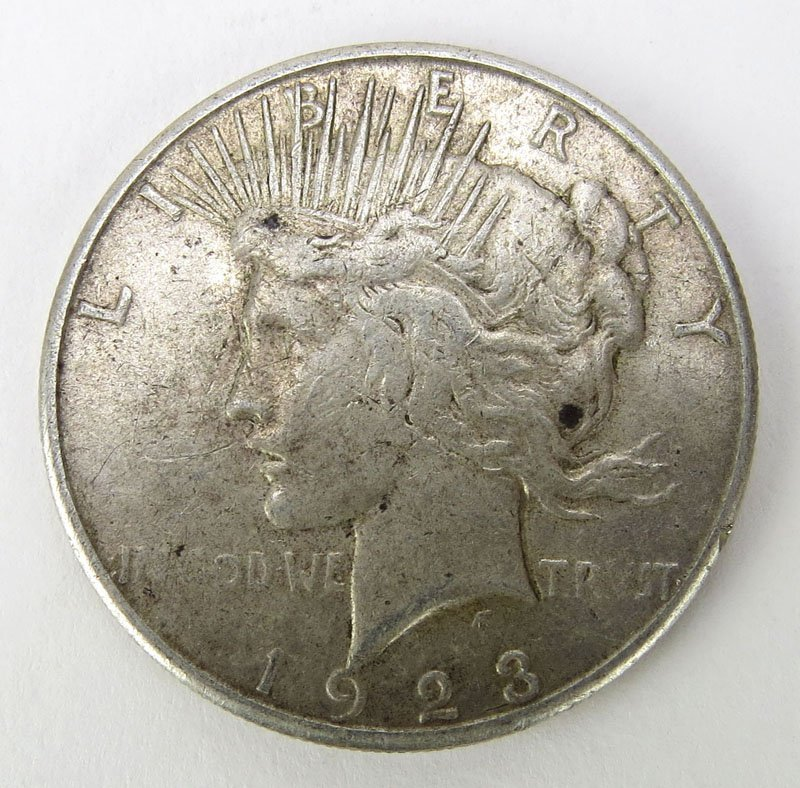 1889 Morgan Silver Dollar. This Coin IS NOT