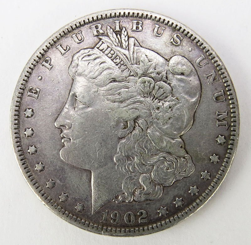 1891 Morgan Silver Dollar Weighs. This Coin IS NOT