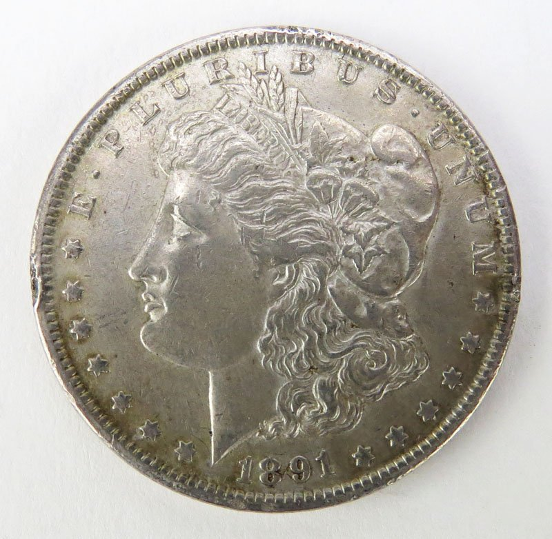 1902 Morgan Silver Dollar. This Coin IS NOT