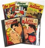 Love Romances Comic Book #12 and 66, Love Diary Comic