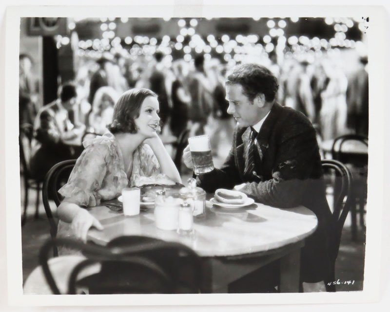 Greta Garbo and Charles Bickford Vintage MGM Photo from