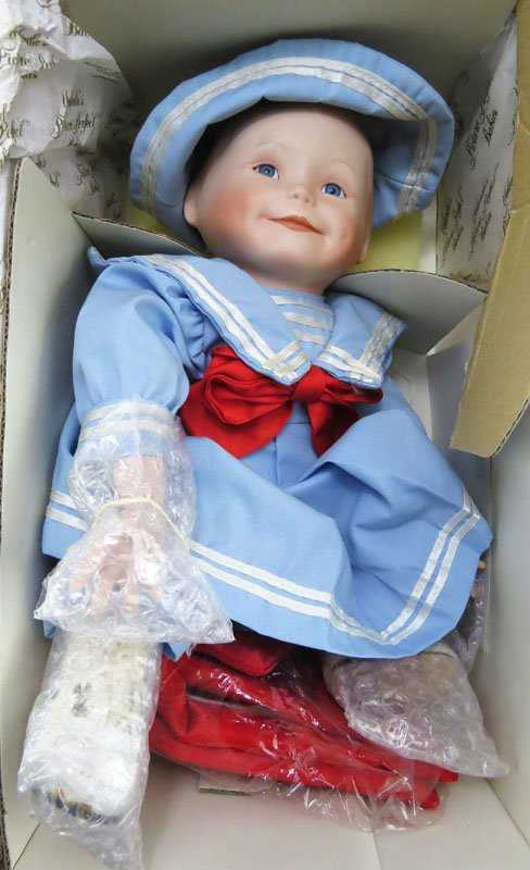 Yolanda Bello Porcelain Doll Picture Perfect Babies