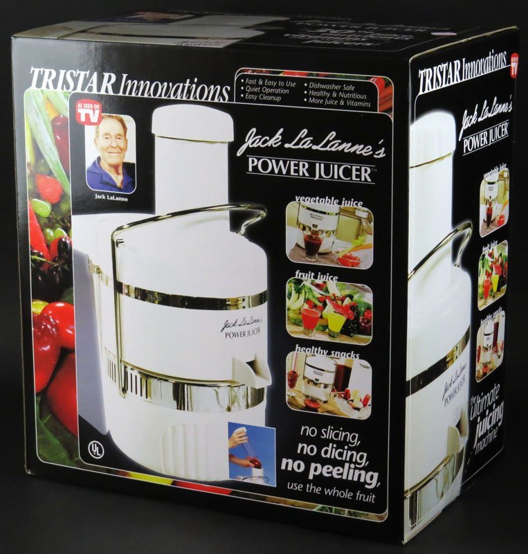 Tristar Innovation Jack LaLanne's Power Juicer Brand
