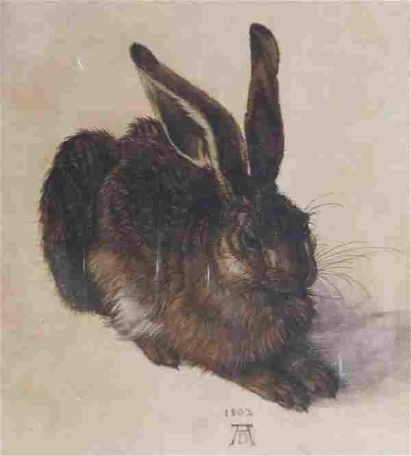 """after: Albrecht Dürer German (1471-1528) Print """"Young"""