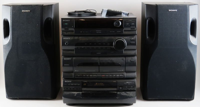 Sony Compact Disc Deck Receiver k Stereo System Model H