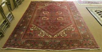 Very Large Semi Antique Persian Hand Woven Palace Sized
