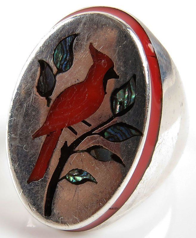 Henry & Linda Barber Sterling Silver Carnelian and