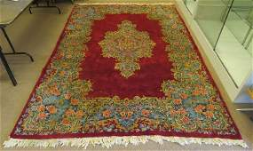 Attractive Room Size Persian Kerman Rug Unsigned