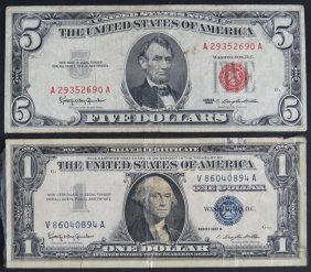 Series 1963 United States of America Five Dollar Note