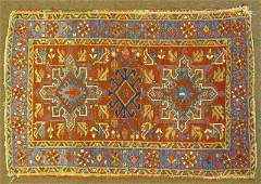 Semi Antique Northwest Persian Tribal Rug Unsigned