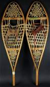 Pair of Mens Faber Snowshoes Made in Loretteville Que