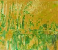 Edna Glaubman American-New York (191-1986) Acrylic on