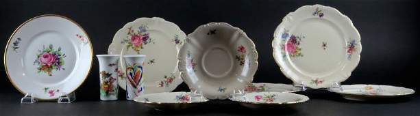 Two 2 Bjorn Winblad Rosenthal Studio Line Porcelain M