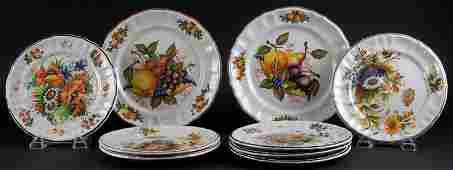 Nine (9) Bassano Italian Ceramic Dinnerware Pieces Made