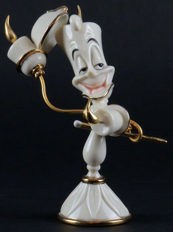 Lenox Disney Showcase Beauty and the Beast Lumiere
