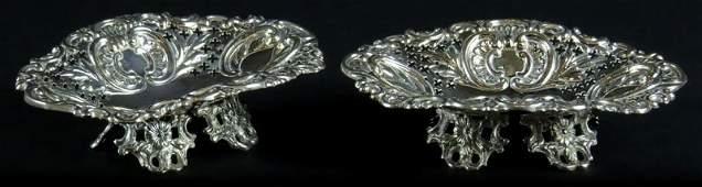 Ornate Pair of 19th Century William Hutton  Sons